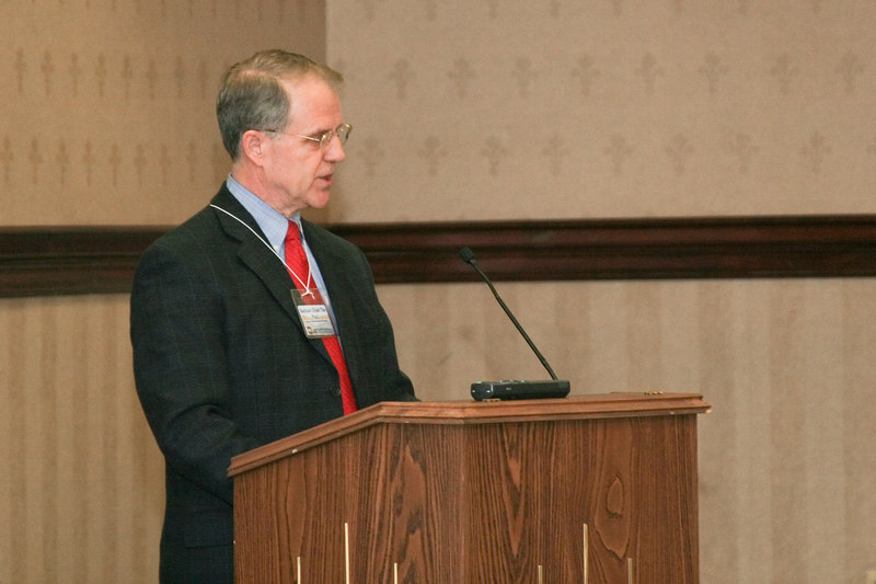 <b>IMG_55030</b><br>Tim Paul provided an update from the Department of Criminal Justice Services.