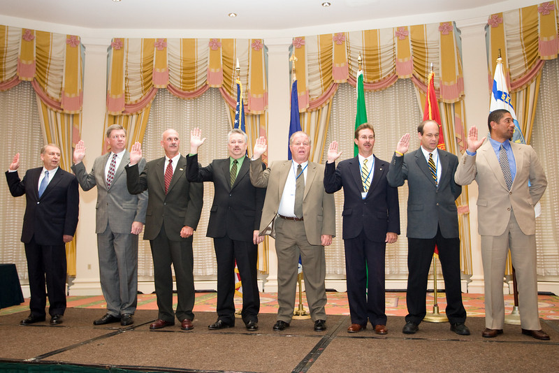 2008-2009 VACP Executive Board takes oath of office.