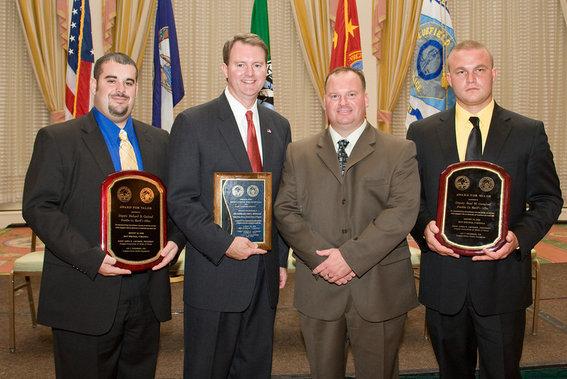 Deputy Richard B. Garland, Franklin County Sheriff's Office; The Honorable John L. Brownlee; Major Josh Carter and Deputy Brad M. Campbell, Franklin Co. Sheriff's Office.