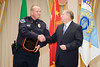 <u>2008 VACP/VPCF Valor Award Recipient:</u> Lieutenant Kevin Testerman, Chilhowie Police Department and Roanoke Co. Police Chief Ray Lavinder, 2007-2008 VACP President.
