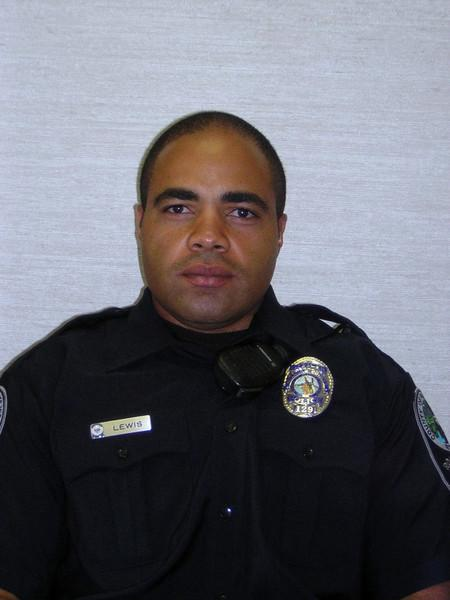 Officer Spencer D. Lewis, Roanoke PD