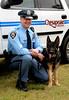 "Police Officer Specialist Norwood ""Trea"" King & K-9 Axel, Chesapeake Police Department"