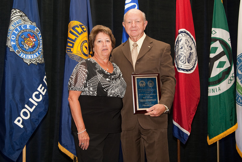 2010 VACP/VPCF Award for Outstanding Contribution to Law Enforcement Recipient Colonel W. Gerald Massengill, Retired, Virginia State Police and wife, Nita Massengill
