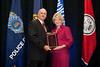 2009-10 VACP President Chief Doug Scott, Arlington County Police and 2010 VACP Outstanding Legislator Senator Janet Howell