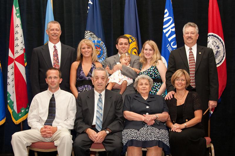 2010-11 VACP President Chief Douglas L. Davis, Waynesboro Police & family