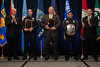 Officer Scott Blystone, SWAT Medic Jeff Yates & Officer Frank Natal, Portsmouth Police Department receive the 2010 VACP/VPCF Award for Valor<br /> (also pictured: 2009-10 VACP President Chief Doug Scott, Arlington County Police and Portsmouth Police Chief Edward Hargis)