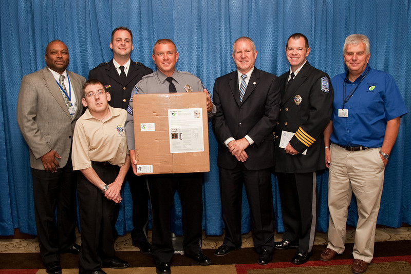 Ashland Police Department<br /> -- Winner of the drawing for a SPEEDsentry radar speed sign from All Traffic Solutions