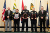 2011 VACP/VPCF Awards for Valor: <br /> Officer Doug Graham, and Officer Ryan Martin<br /> Officer Anita Sowers; Martinsville Police Department