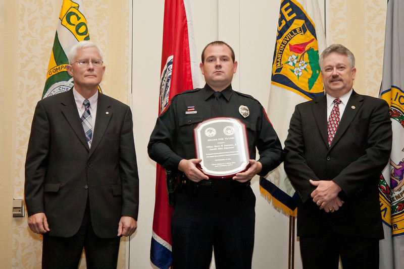 2011 VACP/VPCF Award for Valor: Officer Berry H. Sossoman, Jr.; Danville Police Department