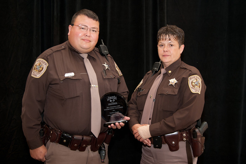Third Place, Sheriff 4 (51-75 Deputies):<br /> Amherst County Sheriff's Office