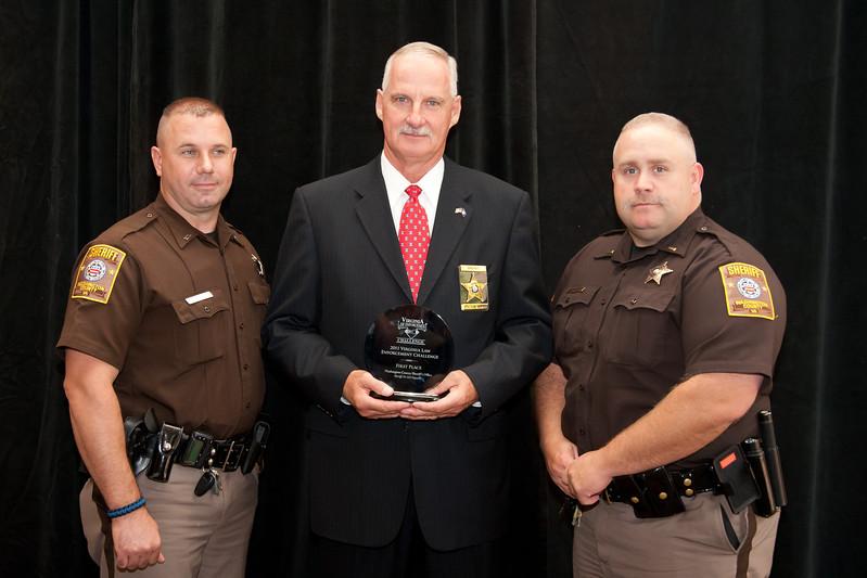 First Place, Sheriff 5 (76-125 Deputies):<br /> Washington County Sheriff's Office