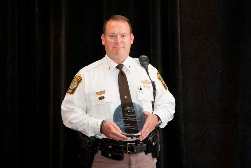 Second Place, Sheriff 5 (76-125 Deputies):<br /> Fauquier County Sheriff's Office
