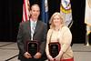 2012 VACP President's Award recipients, Virginia Tech Police Chief Wendell Flinchum and VACP Executive Director Dana Schrad