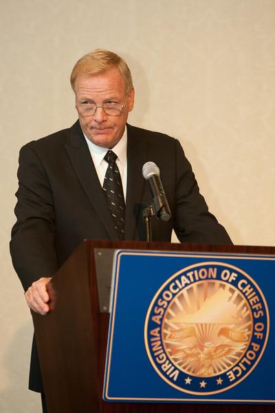Williamsburg Chief Dave Sloggie, VACP Awards Committee Chairman