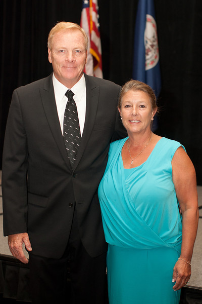 Williamsburg Chief Dave Sloggie, VACP Third Vice President, and wife Maureen.