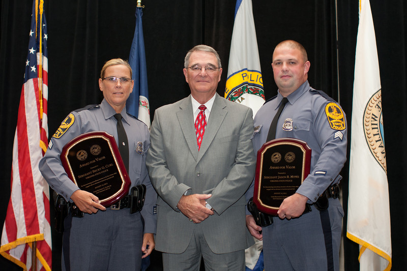 2012 VACP/VPCF Award of Valor recipients from Virginia State Police