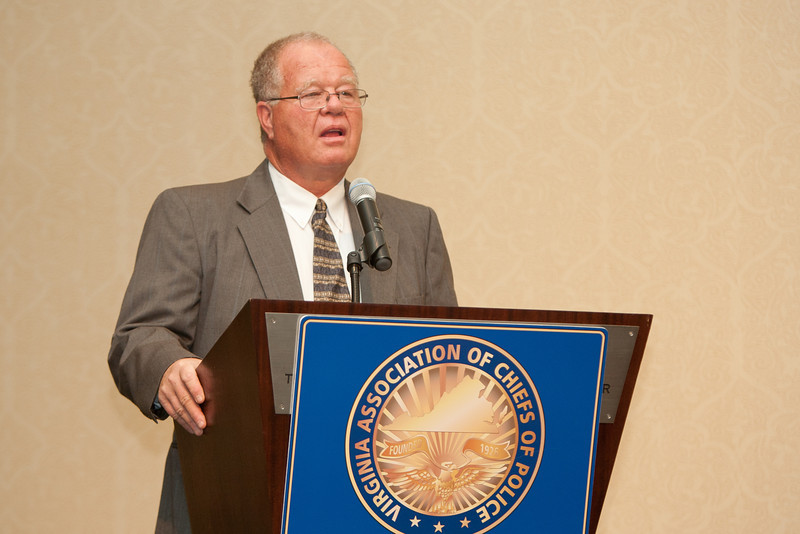 Galax Police Chief Richard Clark, Jr., 2011-12 VACP President
