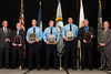 2012 VACP/VPCF Award for Valor presented to former officer Charles D. Kincheloe, Officer John P. Clair, Officer Matthew D. Andersen, Officer Richard D. Visconti, and retired Lt. John J. Twomey of Prince William County Police.