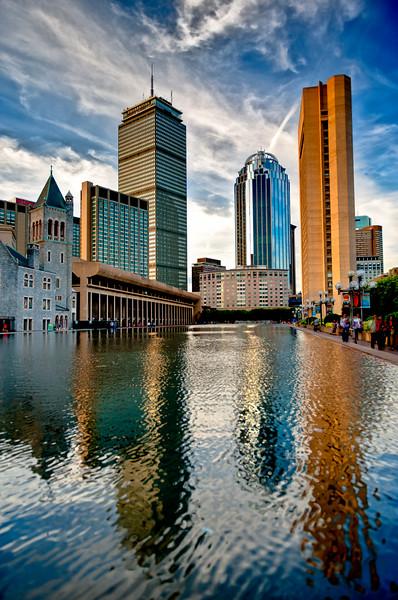 REFLECTING TALL BOSTON