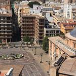 Plaza de la Virgen  -  Valence  -  Valencia  /Espagne  -  Spain
