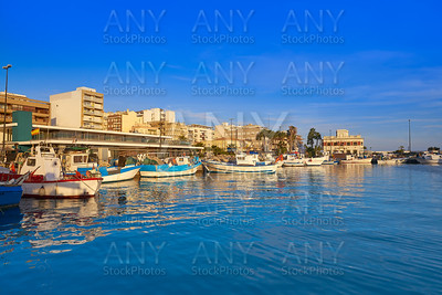 Santa Pola port in Alicante Spain