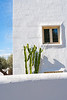 White Mediterranean houses in Javea alicante