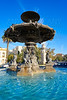 Alameda Albereda fountain of 1878 in Valencia