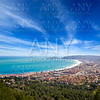 Javea in Alicante aerial view Valencian Community spain