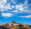 Morella village is Maestrazgo Castellon with castle