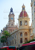 Valencia Plaza del ayuntamiento city town hall square