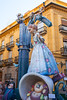 Fallas in Valencia fest figures that will burn on March 19 traditional