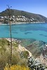 moraira mediterranean turquoise sea high view