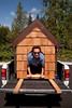 Doggiestock promo-Mark in the doghouse-North Bend, WA 8-20-2010