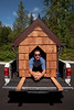 Doggiestock promo-Mark in his doghouse-North Bend, WA 8-20-2010