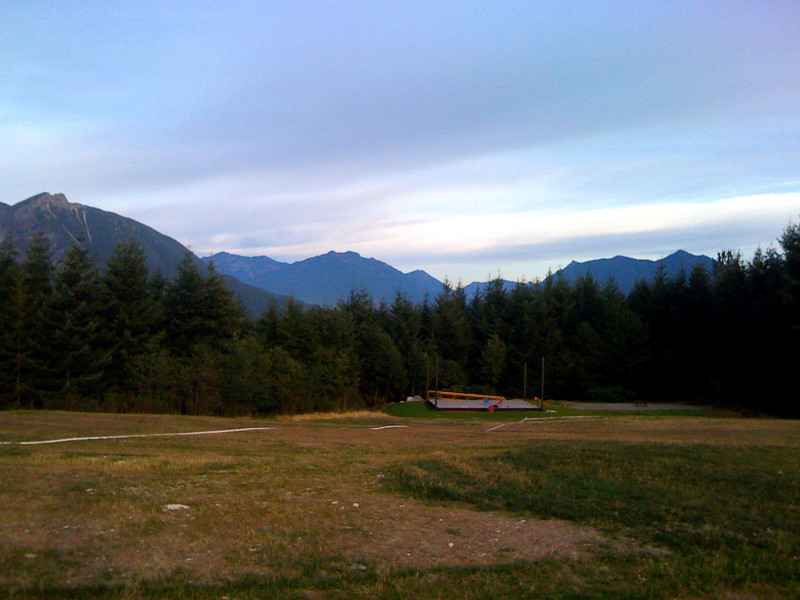 venue for the 1st annual Doggiestock-Snoqualmie Point Park 2009