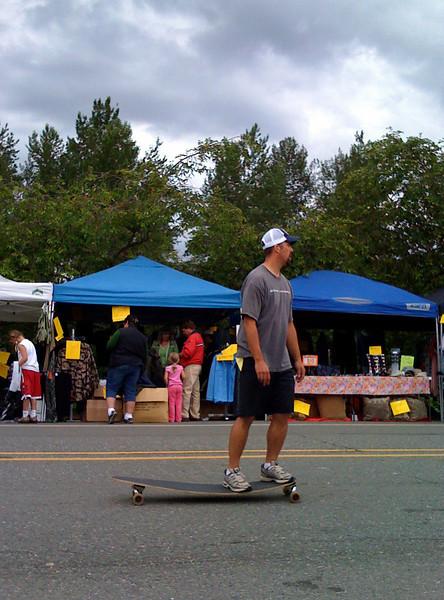 longboarder @ Fall City Days, WA summer 2009