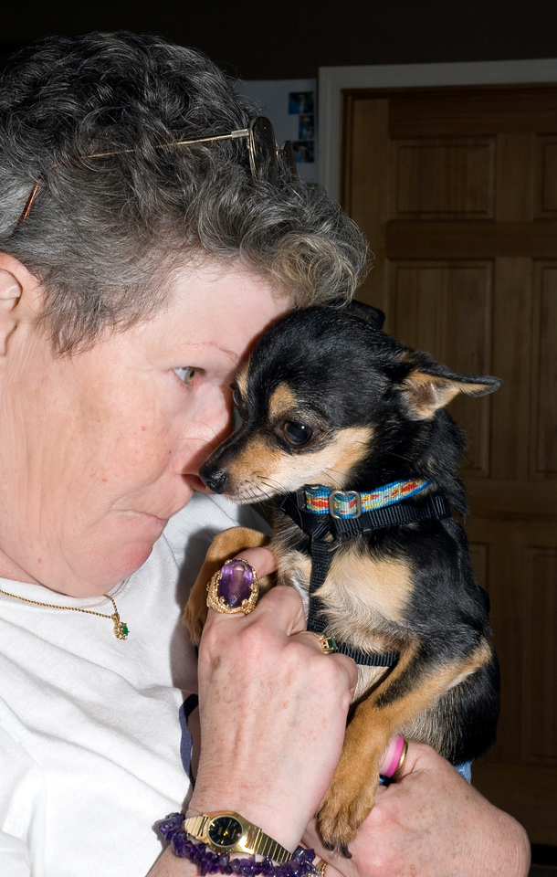 Sher & Scooter - the heart & soul of Chihuahua Rescue & Referral.