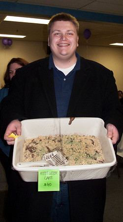 'Kitty Litter Cake' auction winner @ VAP Chili Dinner<br /> Snoqualmie, WA - 2/20/2010