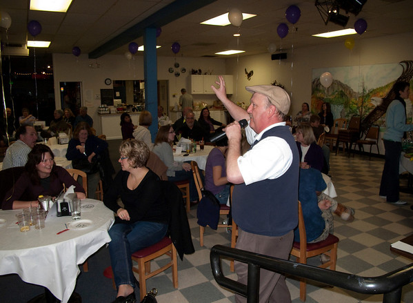 Craig Bennett auctioneering @ VAP Chili Dinner & Dessert Auction<br /> Snoqualmie, WA - 2-2010