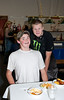 Connor Skylstad & friend @ VAP chili cook-off & dessert auction-Snoqualmie, WA 10-15-2011