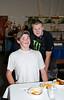 Connor Skylstad & friend @ VAP chili cook-off & dessert auction-Snoqualmie, WA 10-15-2011