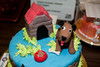 Goliath cake dog & doghouse-VAP dessert auction-Snoqualmie, WA 10-15-2011
