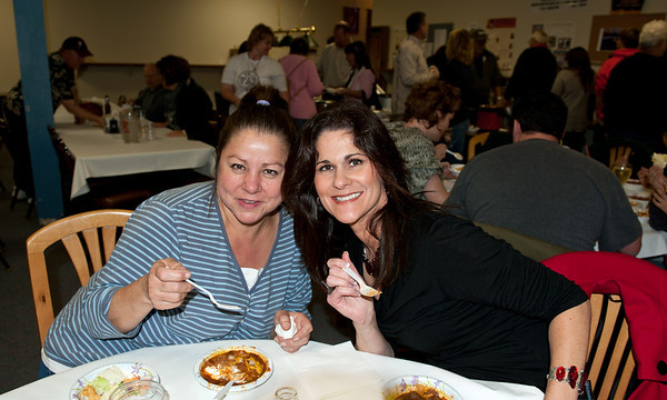Connie Krebs & Jody Runge @ VAP chili cook-off & dessert auction-Snoqualmie, WA 10-15-2011