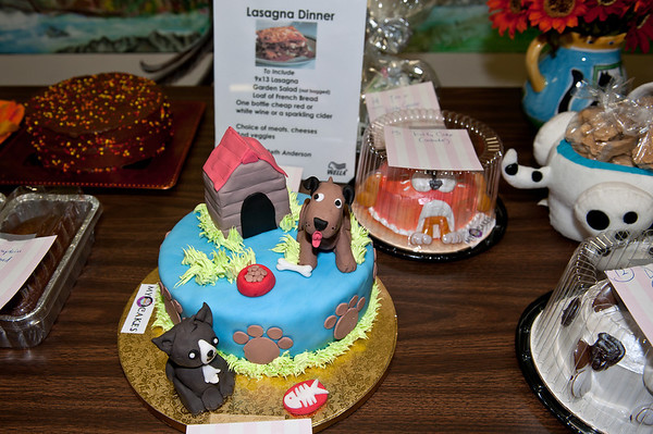 dessert table, including dog & doghouse cake-VAP chili cook-off-Snoqualmie, WA 10-15-2011