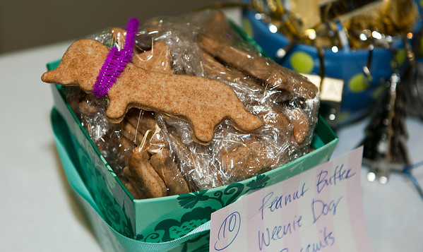 peanut butter dachsund biscuits @ VAP dessert auction-Snoqualmie, WA 10-15-2011