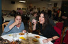 Connie Krebs & Jody Runge feeding their faces @ VAP chili cook-off & dessert auction 10-15-2011