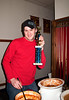 Tim Shoultz, winner of the Pawsitively Purrfect trophy for his chili creation @ VAP's 2nd Annual Dessert Auction & Chili Dinner<br /> Snoqualmie Eagles, WA - 2/2010