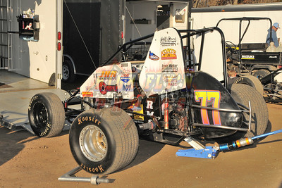 11-3-2012 Valley FAST FALL SERIES Race 6 Sprint Cars