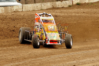 4-7-2013 Valley Sprint Cars Practice