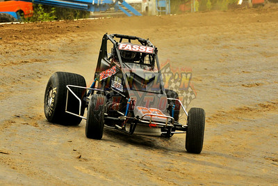 8-17-2014 Brent Fasse Test n Tune Nonwing Sprint Car